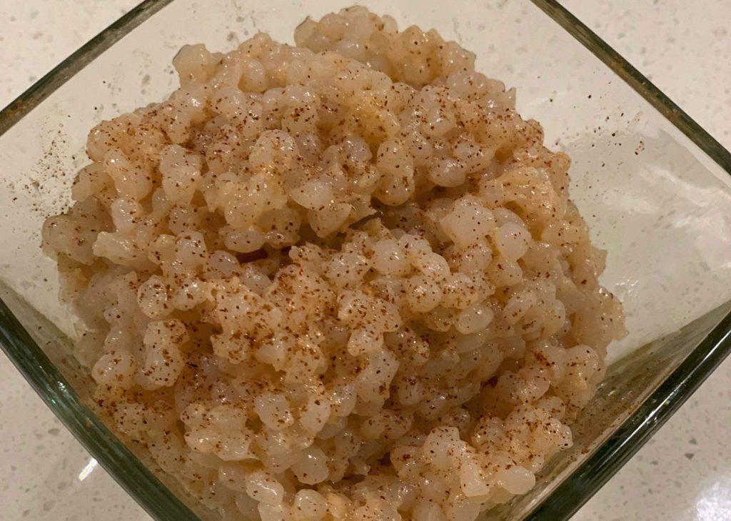 Keto Miracle Rice Pudding - Easy Keto Recipes